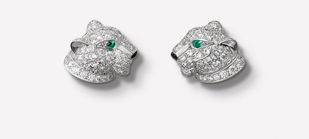 Panthère de Cartier earrings