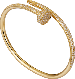 Juste un Clou bracelet Yellow gold, diamonds