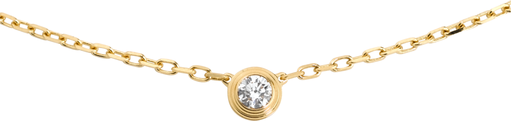 Diamants Légers necklace, SMYellow gold, diamond