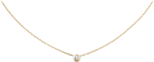 Diamants Légers necklace, LM Yellow gold, diamond