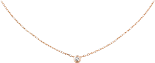 Diamants Légers necklace, LM Pink gold, diamond