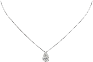 1895 necklace White gold, diamond