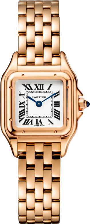 Panthère de Cartier watch Small model, quartz movement, pink gold