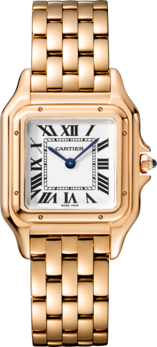 Panthère de Cartier watch Medium model, pink gold