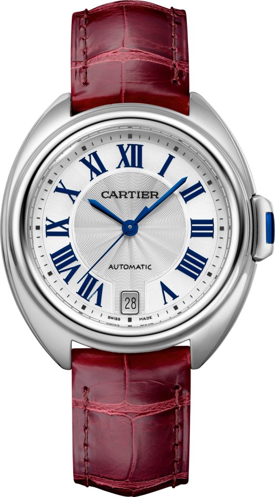 Clé de Cartier watch35mm, automatic movement, steel