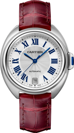 Clé de Cartier watch 35mm, automatic movement, steel