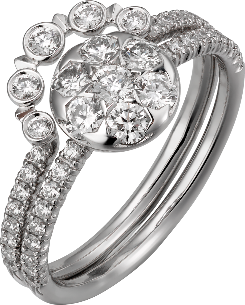 Etincelle de Cartier ringWhite gold, diamonds