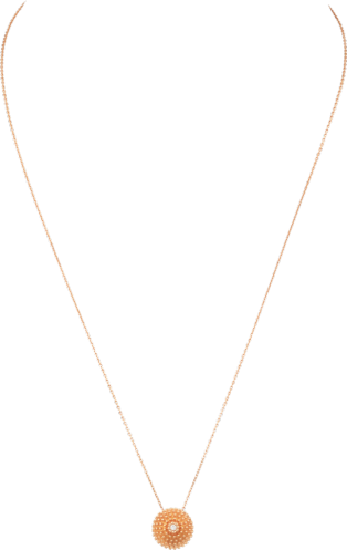 Cactus de Cartier Necklace Pink gold, diamond