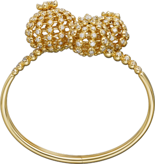 Cactus de Cartier bracelet Yellow gold, diamonds