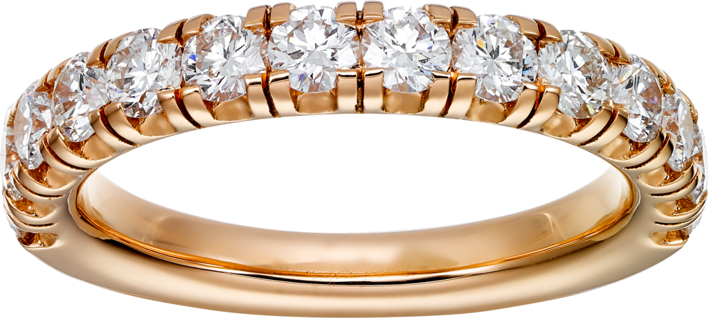 Étincelle de Cartier wedding bandPink gold, diamonds