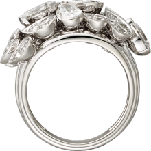 Pluie de Cartier ring White gold, diamonds