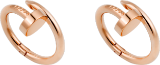 Juste un Clou cufflinks Solid pink gold