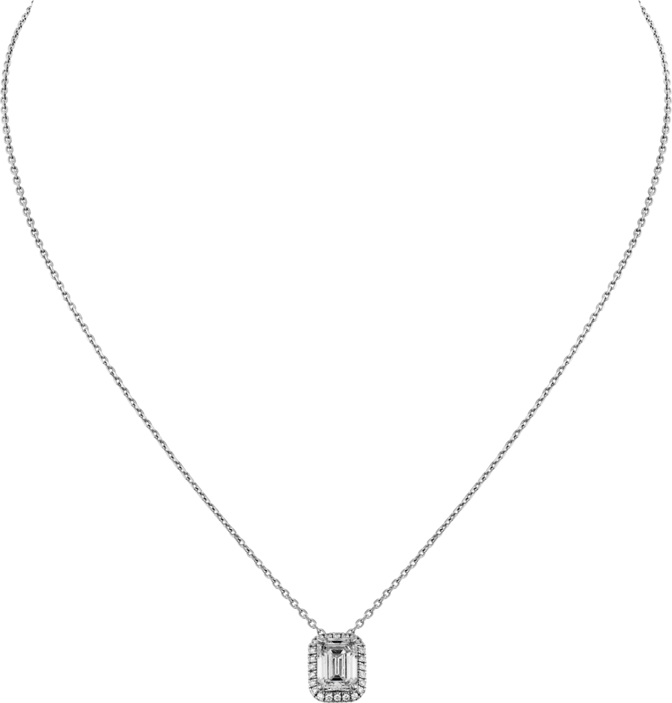 Cartier Destinée necklacePlatinum, diamonds