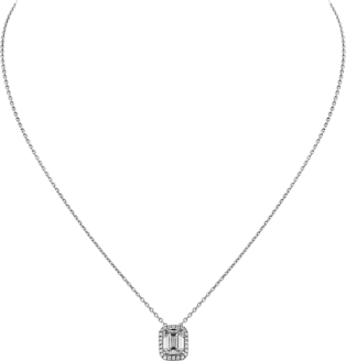 Cartier Destinée necklace Platinum, diamonds