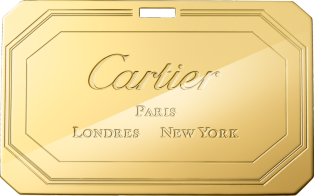 Long Clutch, Guirlande de Cartier Red calfskin, golden finish