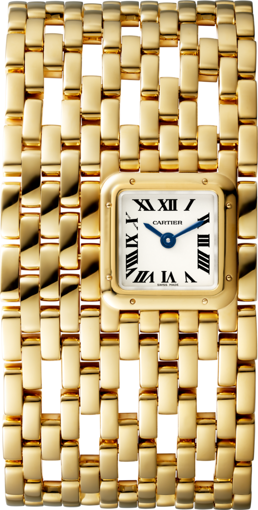 Panthère de Cartier watchCuff, yellow gold
