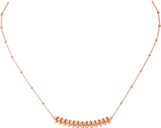 Clash de Cartier necklace Small Model Pink gold
