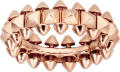 Clash de Cartier ring Medium Model Pink gold
