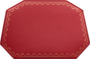 Guirlande de Cartier Small Leather Goods, small model clutch bag Red calfskin
