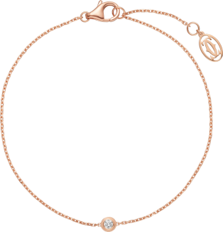 Diamants Légers bracelet, SM Pink gold, diamond