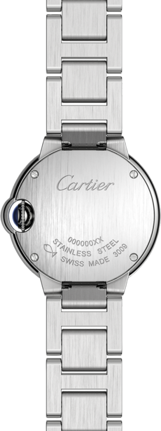 Ballon Bleu de Cartier watch 28 mm, steel