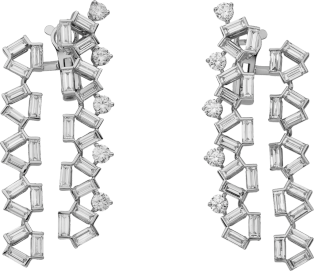 Reflection de Cartier earrings White gold, diamonds