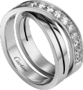 Etincelle de Cartier ring White gold, diamonds