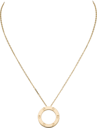 <span class='lovefont'>A </span> necklace Yellow gold