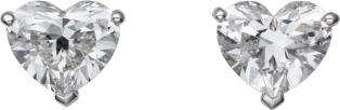 1895 earrings Platinum, diamonds