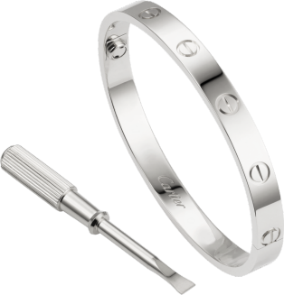 Love bracelet White gold