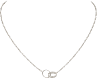 <span class='lovefont'>A </span> necklace White gold