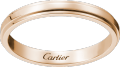 Cartier d'Amour wedding band Pink gold
