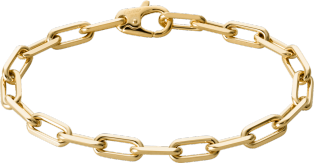 Santos de Cartier bracelet Yellow gold