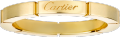 Maillon Panthère wedding band Yellow gold