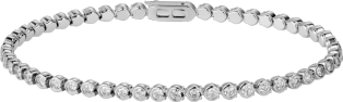 C de Cartier bracelet White gold, diamonds
