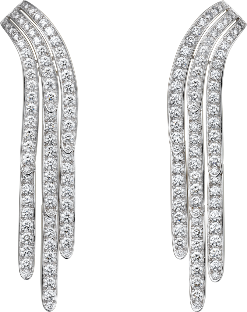 Diamond Collection earringsPlatinum, diamonds