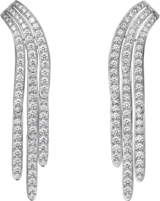 Diamond Collection earrings Platinum, diamonds