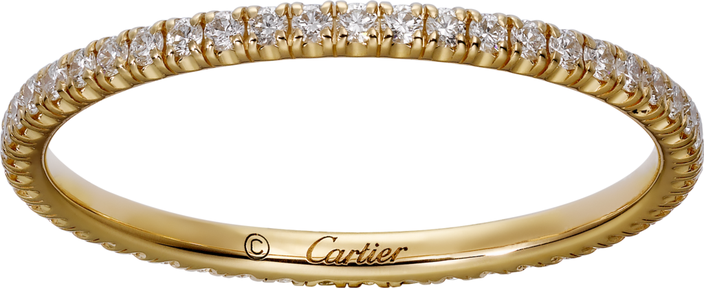 Étincelle de Cartier wedding bandYellow gold, diamonds