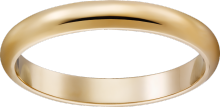 1895 wedding band Yellow gold