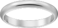 1895 wedding band Platinum