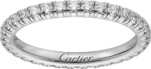 Étincelle de Cartier wedding band White gold, diamonds