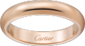 1895 wedding band Pink gold